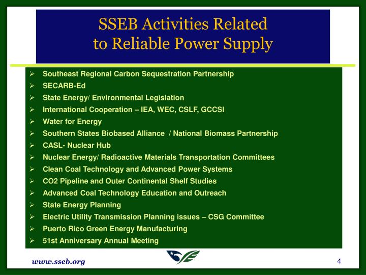 SSEB Activities Related