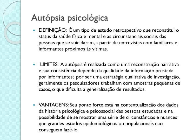 Autópsia psicológica