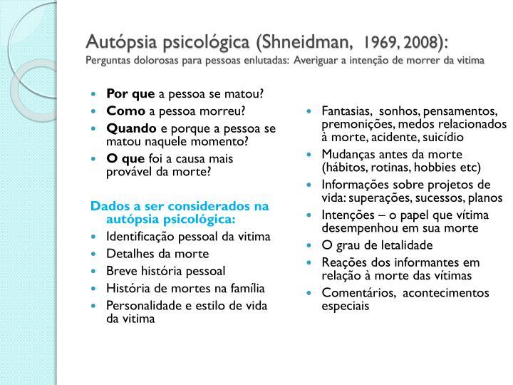 Autópsia psicológica (