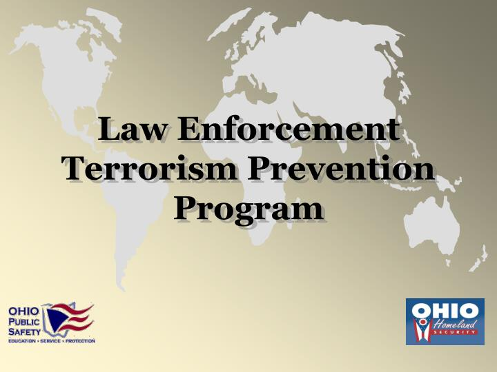Law Enforcement Terrorism Prevention Program