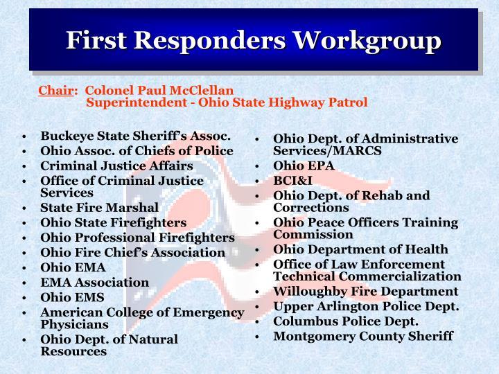 Buckeye State Sheriff's Assoc.