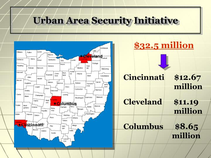Urban Area Security Initiative