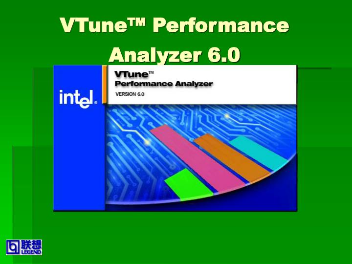 Vtune performance analyzer 6 0