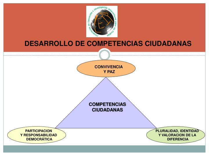 DESARROLLO DE COMPETENCIAS CIUDADANAS