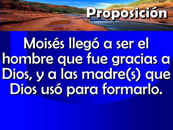 Proposicin
