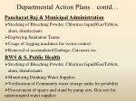 departmental action plans contd3