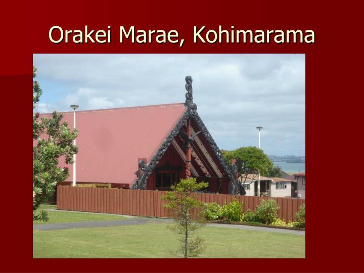 Orakei Marae, Kohimarama