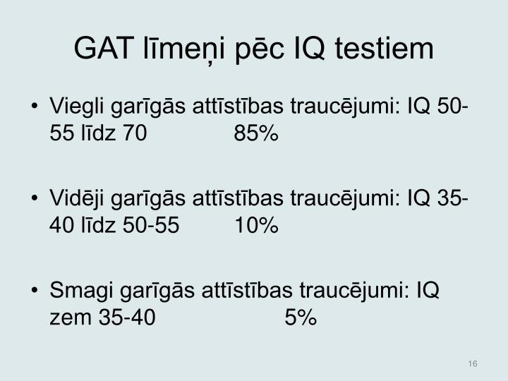 GAT lmei pc IQ testiem