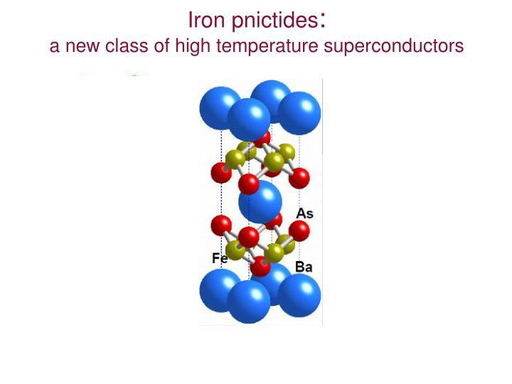 Iron pnictides