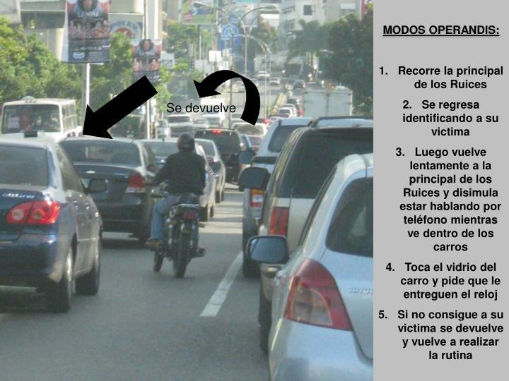 MODOS OPERANDIS: