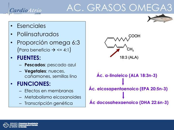 AC. GRASOS OMEGA3