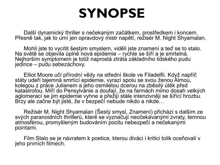 SYNOPSE