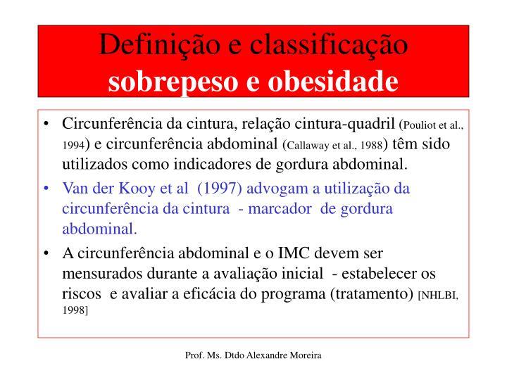 Definição e classificação