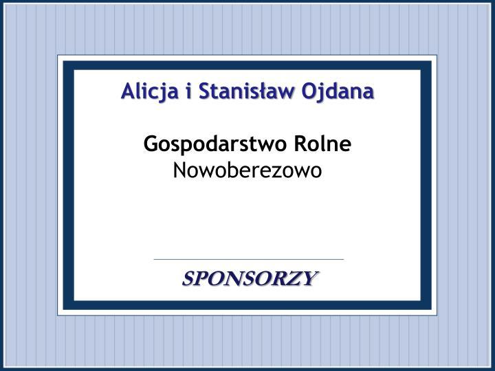 Alicja i Stanisław