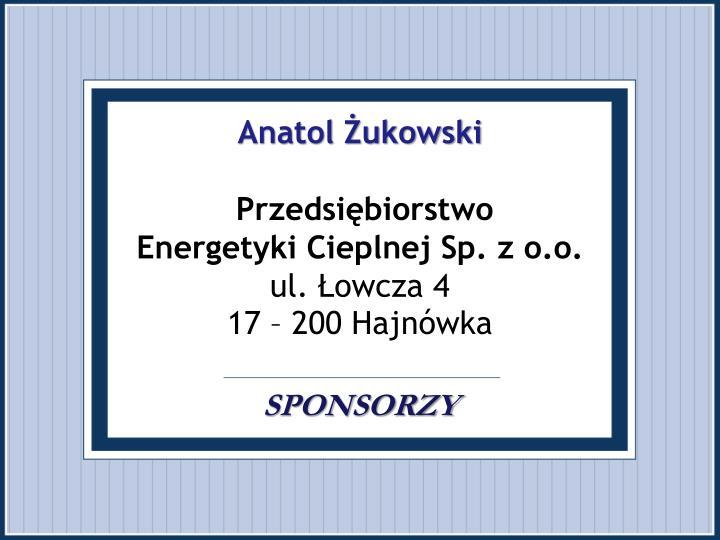 Anatol Żukowski