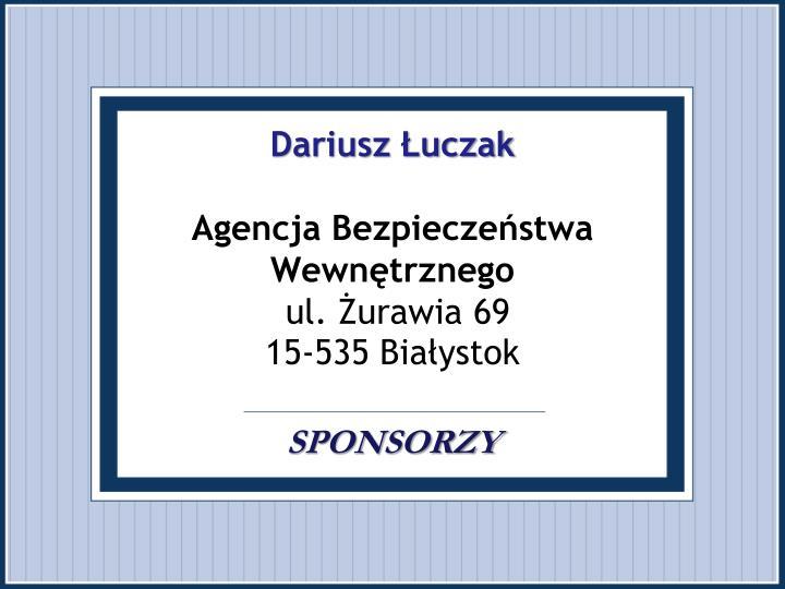 Dariusz Łuczak