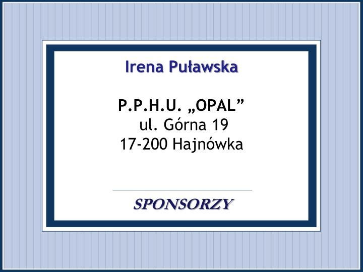 Irena Puławska