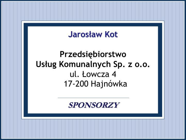 Jarosław Kot