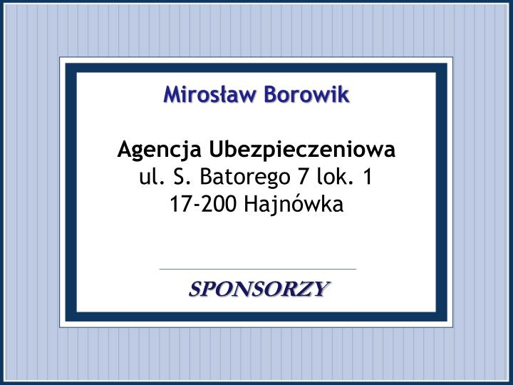 Mirosław Borowik