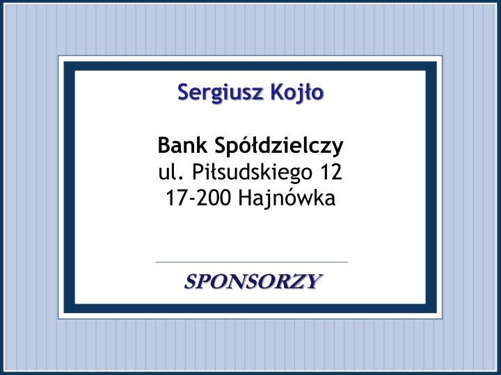 Sergiusz