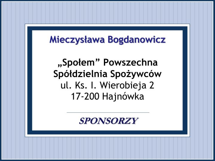 Mieczysława