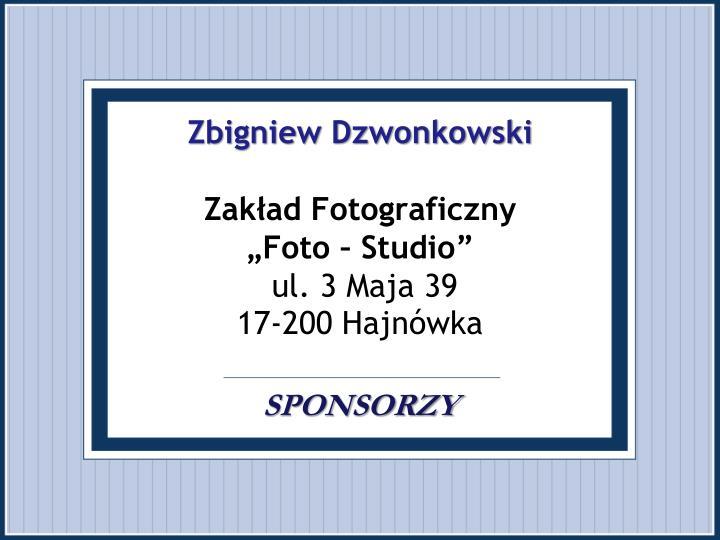 Zbigniew Dzwonkowski