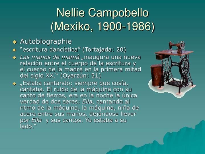 Nellie Campobello