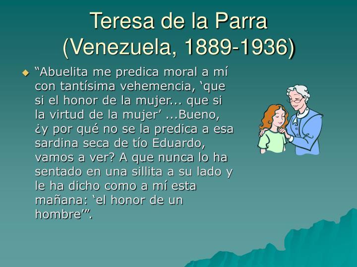 Teresa de la Parra