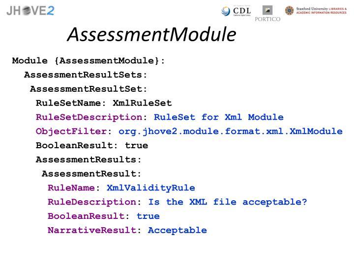 AssessmentModule