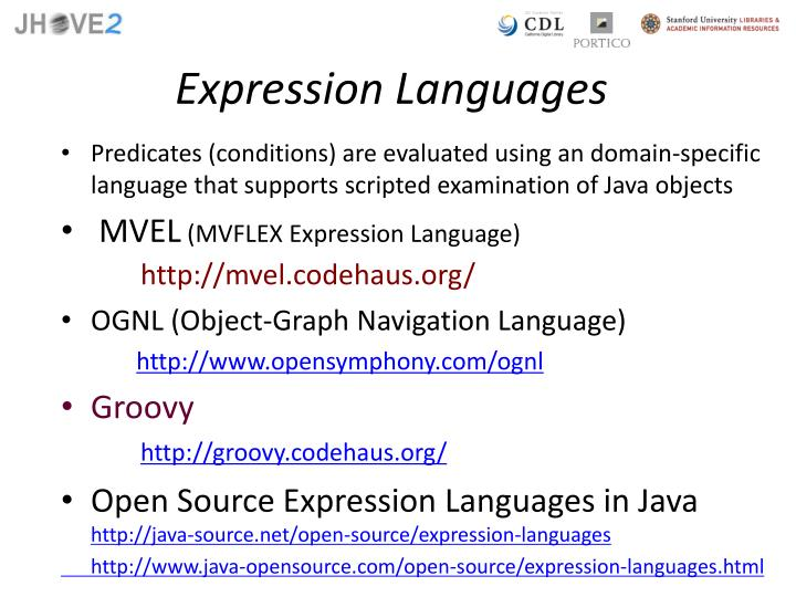 Expression Languages