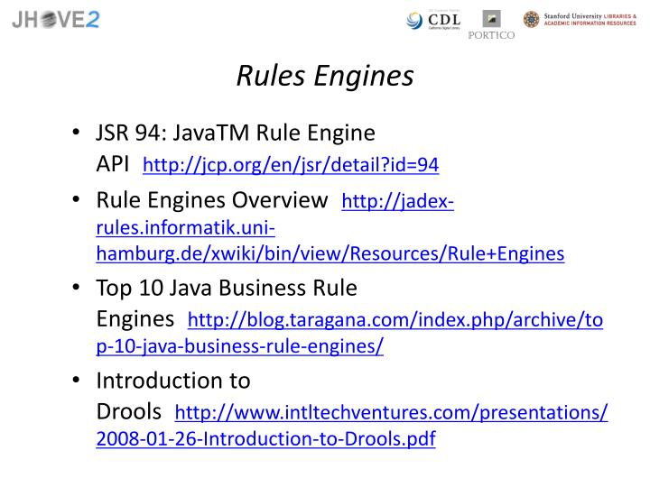 Rules Engines