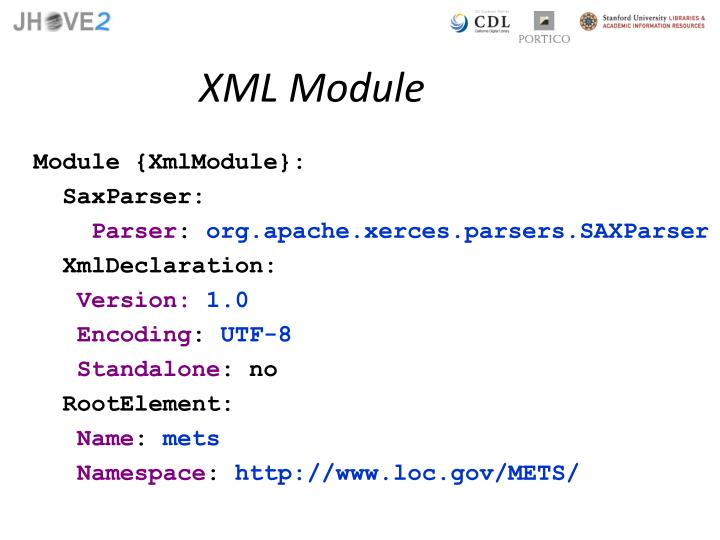 XML Module