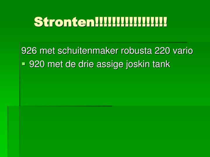 Stronten!!!!!!!!!!!!!!!!!