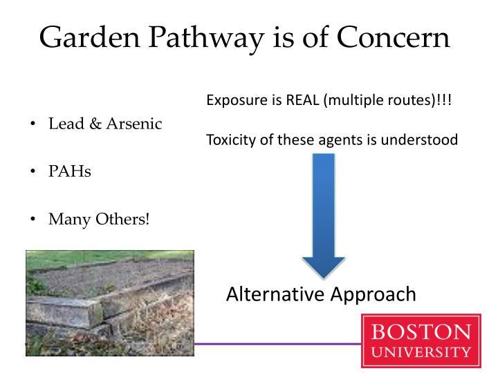 Garden Pathway is of Concern