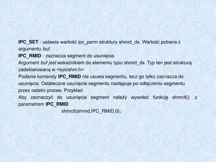 IPC_SET