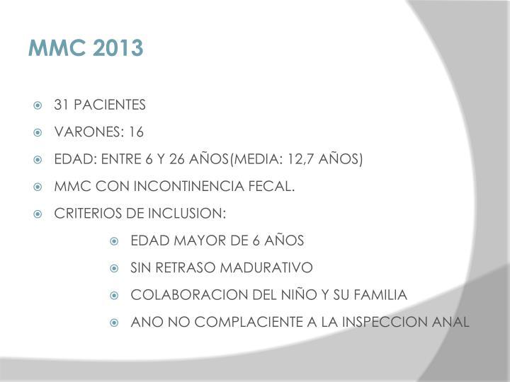 MMC 2013