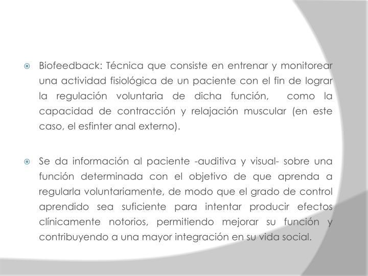 Biofeedback