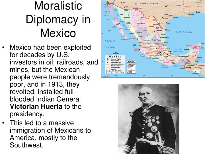 Moralistic Diplomacy in Mexico