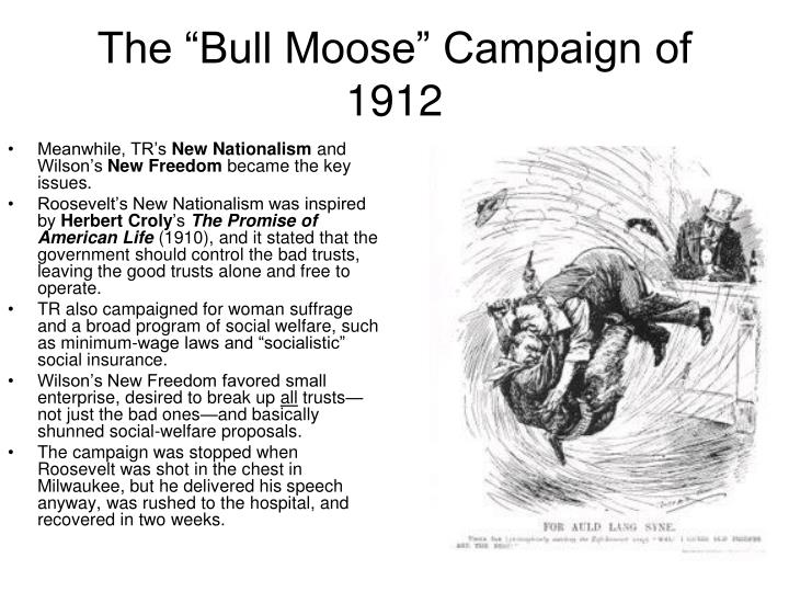 "The ""Bull Moose"" Campaign of 1912"