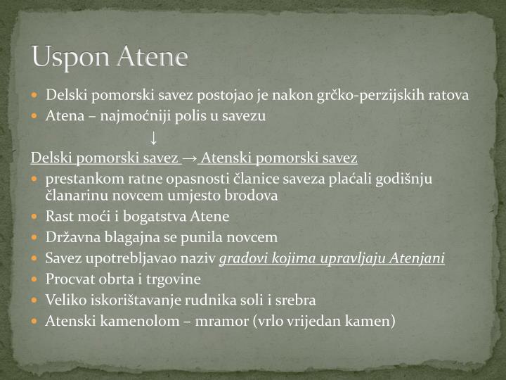 Uspon Atene
