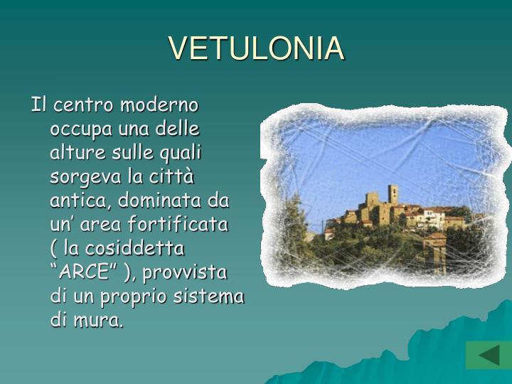 VETULONIA