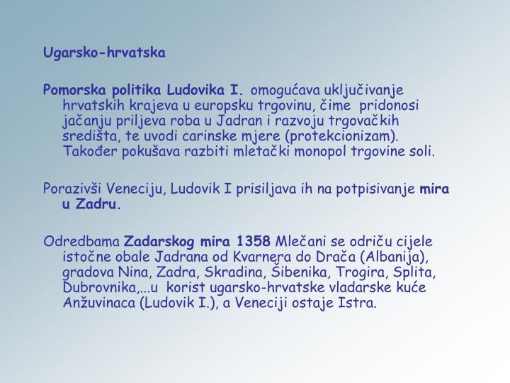 Ugarsko-hrvatska