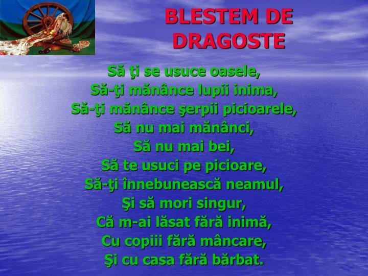 BLESTEM DE DRAGOSTE