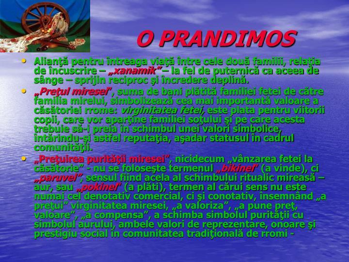 O PRANDIMOS