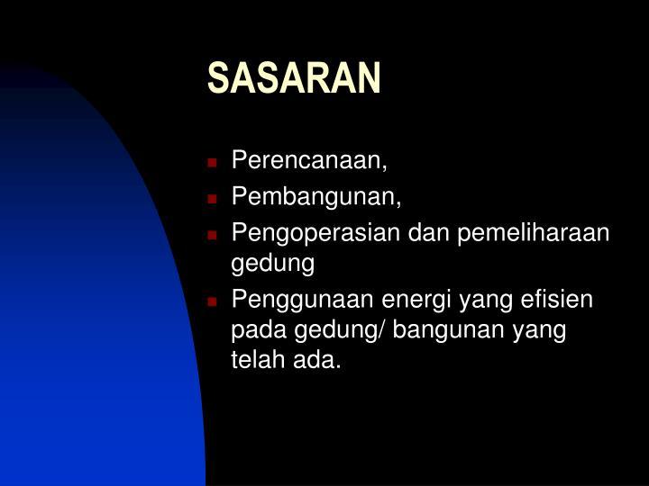 SASARAN
