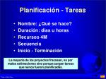 planificaci n tareas1