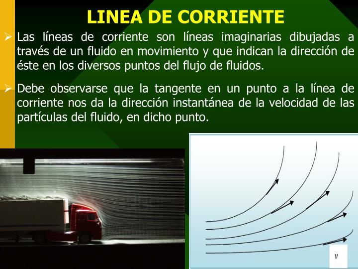 LINEA DE CORRIENTE
