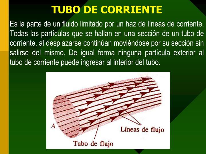TUBO DE CORRIENTE