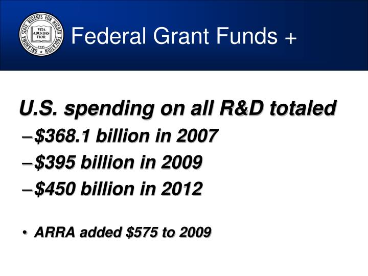Federal Grant Funds +