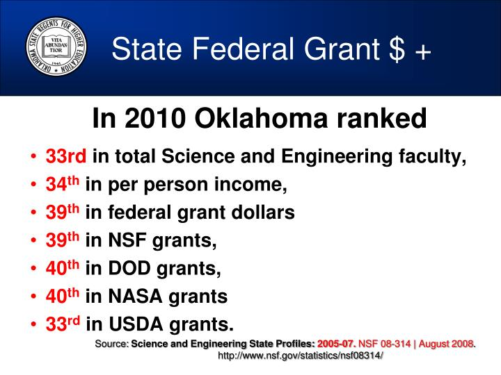 State Federal Grant $ +